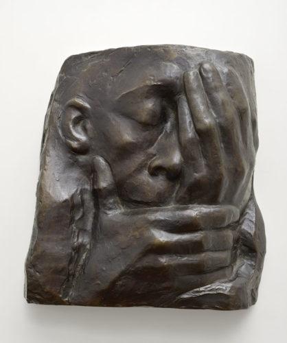 Die Klage, 1938-40, Bronzerelief
